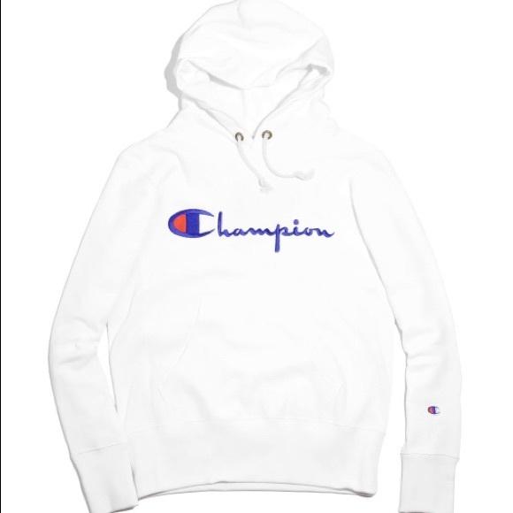 White Poshmark Champion SweatersMens Medium S Hoodie VpSzMU